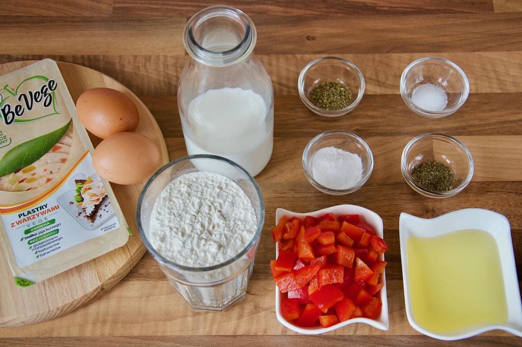 muffiny śniadaniowe składniki